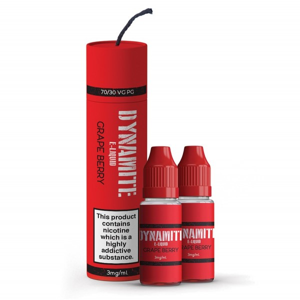 Dynamite E-liquid - Dynamite 3mg 2x10ml  Dynamite E-liquid