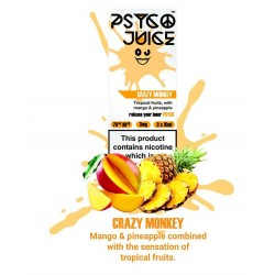Psyco Juice - Crazy Monkey 3mg 3x10ml Psyco Juice