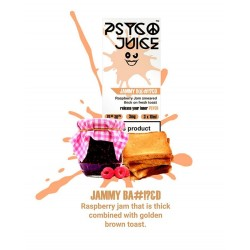 Psyco Juice - Jammy B@#!?&D 3mg 3x10ml Psyco Juice