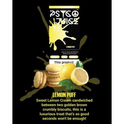 Psyco Juice - Lemon Puff 3mg 3x10ml Psyco Juice