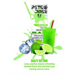 Psyco Juice - Crazy Ice Lime 3mg 3x10ml Psyco Juice